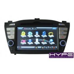 HYUNDAI HYPE HSB8947GPS Autoradio 2 DIN GPS 16cm DVD IPOD USB SD Pour HYUNDAI