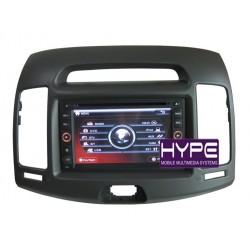 HYPE HSB8916EGPS Autoradio 2 DIN GPS 16cm DVD IPOD USB SD Pour HYUNDAI ELANDRA