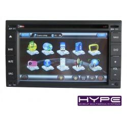 HYPE HSB8901HGPS Autoradio 2 DIN GPS 16cm DVD IPOD USB SD Pour HYUNDAI SANTAFE ELANTRA SONATA