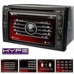 HYUNDAI HYPE HSB8916HGPS Autoradio 2 DIN GPS 16cm DVD IPOD USB SD Pour HYUNDAI