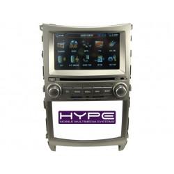 HYPE HSB1846GPS Autoradio 2 DIN GPS 16cm DVD IPOD USB SD Pour HYUNDAI VERACRUZ