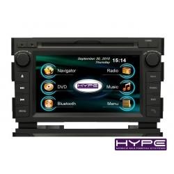 HYPE HSB7110GPS AUTORADIO 2 DIN GPS 18CM DVD DIVX USB SD POUR KIA CEED