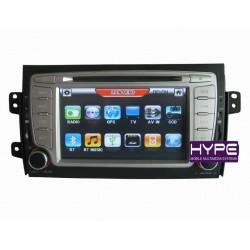 HYPE HSB7165GPS Autoradio 2 DIN GPS 18cm DVD DIVX USB SD IPOD Pour SUZUKI SX4