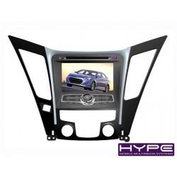 HYPE HSB8975GPS Autoradio 2 DIN GPS 18cm DVD IPOD USB SD Pour HYUNDAI
