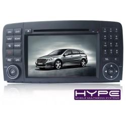 HYPE HSB7213GPS AUTORADIO 2 DIN GPS 18CM DVD USB SD POUR MERCEDES