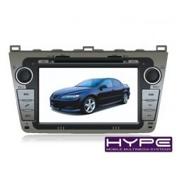 HYPE HSB8729GPS AUTORADIO 2 DIN GPS DVD SD IPOD COMPATIBLE MAZDA 6