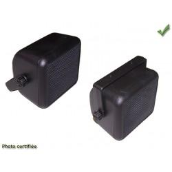 HAUT-PARLEUR BOX D100 BICONE 30W NOIR (GK4010+51028Nx2)