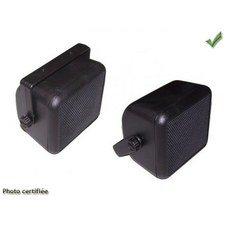 HAUT-PARLEUR BOX D100 2 VOIES 60W NOIR (XL100+51028Nx2)