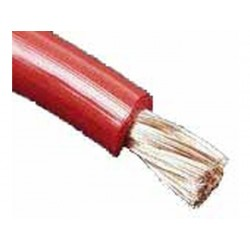 BOBINE DE CABLE ALIMENTATION 35mm2 15m ROUGE