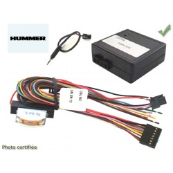 Cde au volant pioneer pour hummer h2 2005