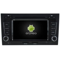 Autoradio GPS Waze Android 5.1 tactile Audi A4