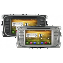 Autoradio Android 4.4.4 GPS Ford Mondeo, Focus, S-Max, Galaxy