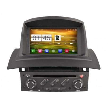 Autoradio GPS Android Wifi Renault Megane 2 & Kangoo I Phase 2
