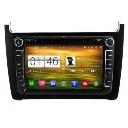 Autoradio Android GPS DVD Wifi Volkswagen Polo depuis 2014