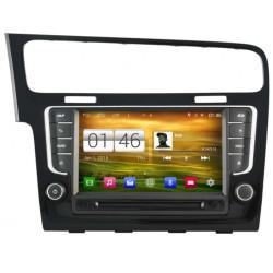 Autoradio Android 4.4.4 GPS Volkswagen Golf 7