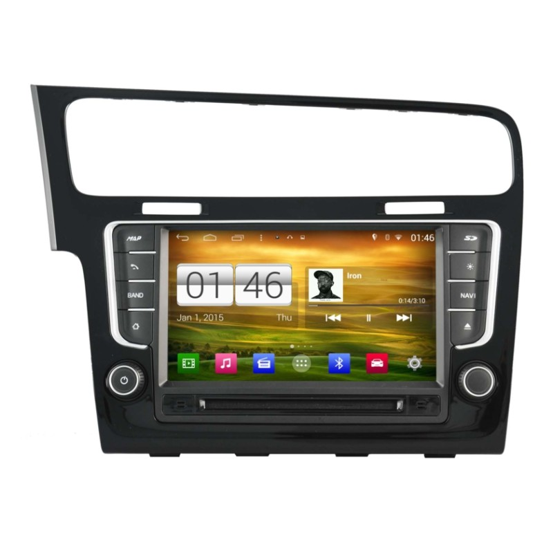 autoradio android 4 4 4 gps volkswagen golf 7. Black Bedroom Furniture Sets. Home Design Ideas