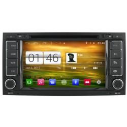 Autoradio Android 4.4.4 Wifi GPS Waze Volkswagen Touareg & T5