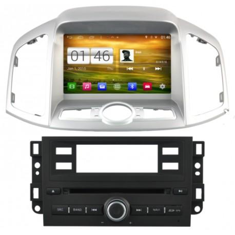 Autoradio Android 4.4.4 GPS Chevrolet Captiva depuis 2011