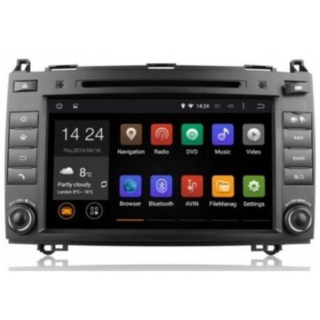 AUTORADIO GPS MERCEDES Classe B A VITO VIANO SPRINTER ANDROID OU WINDOWS