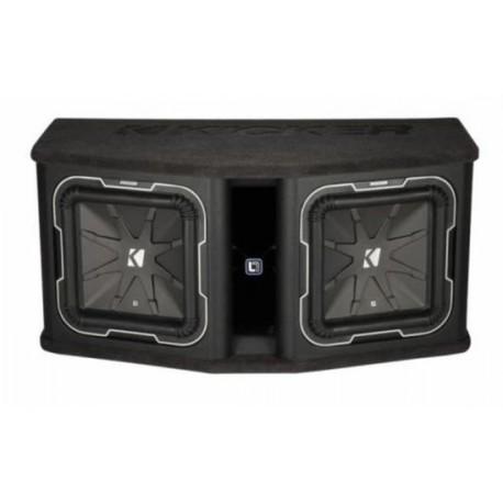 KICKER Q-Class Dual-Bassreflexbox DL7122