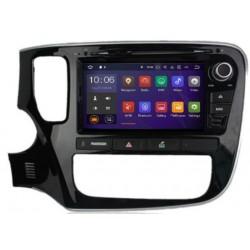 Autoradio Android 7.1 GPS écran tactile Wifi Mitsubishi Outlander depuis 2015