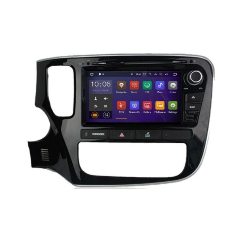 autoradio android 71 gps ecran tactile wifi mitsubishi outlander depuis 2015. Black Bedroom Furniture Sets. Home Design Ideas