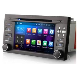 Autoradio Android 8.0 Wifi GPS Porsche Cayenne de 2003 à 2010