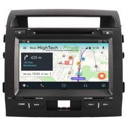 AUTORADIO GPS TOYOTA LAND CRUISER 200 de 2007 à 2013 ANDROID OU WINDOWS