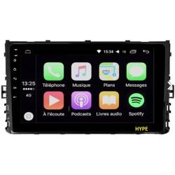 AUTORADIO Android GPS Wifi Bluetooth Volkswagen Polo Golf Passat Tiguan T-Roc T-Cross et Arteon depuis 2018