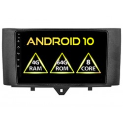AUTORADIO ANDROID GPS SMART FOR TWO 2011-2015