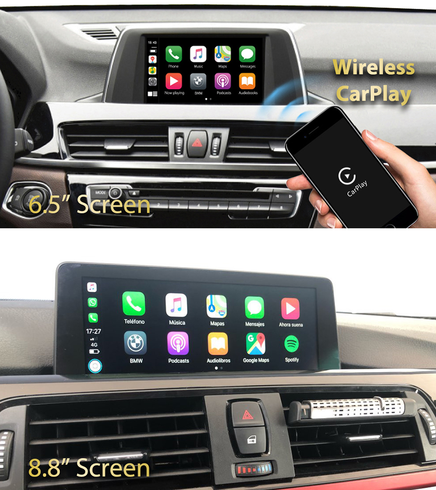 CARPLAY ANDROID AUTO BMW