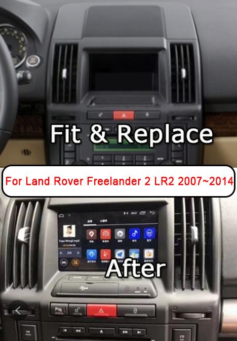 autoradio gps freelander2 android carplay
